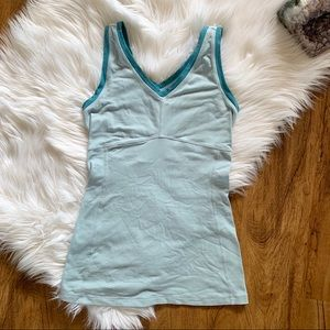 Lucy Power Flow Tank Top Blue Size Extra Small